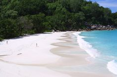 Anse Georgette on Praslin in the Seychelles