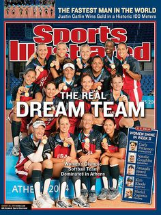 Sports Illustrated - The Real Dream Team - USA Softball
