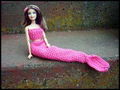 Mamma That Makes: Barbie Mermaid Tail - Free crochet pattern