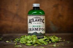 Atlantic Farms Hops Shampoo.... hops as in beer hops