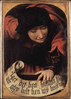 Diptych unknown Flemish humorist of the 16th century
