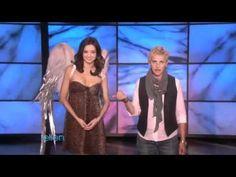 ▶ Ellen Teaches Supermodel Miranda Kerr How to be Sexy - YouTube