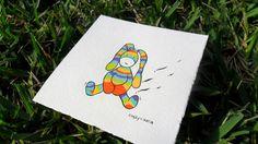 retro bunny illustration by LuckiiArts on Etsy, $22.50