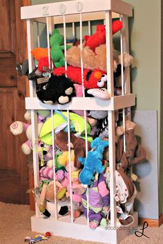 Stuffed Animal Zoo Instructions - making this over the weekend!!!