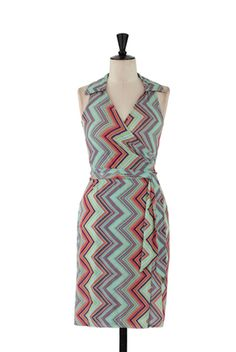 Another fantastic wrap!  This one in a halter style in the coolest of colors for summer.  Wrinkle free, drapy fabric.  $124