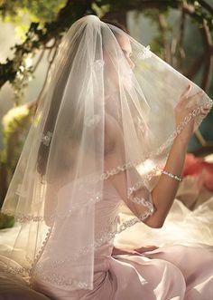 Sleeping Beauty Veil   Alfred Angelo Bridal Collection   Disney's Fairy Tale Weddings & Honeymoons