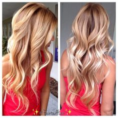 blond, loos wave, loos curl, gorgeous color