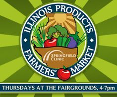 Join us tomorrow to learn about new fruits and vegetables you might not have tried before this Thursday at the Illinois Products Farmers' Market! Stop by our booth beginning at 4:00 to try free samples while they last! #SpfldClinic #farmersmarket