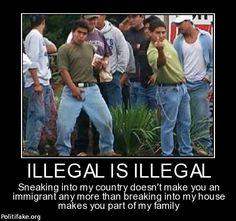 politics Illegal is Illegal