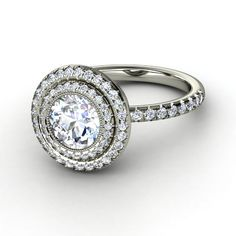 Round Diamond Natalie Ring