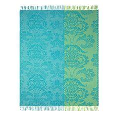 Beautiful throw from Designers Guild - https://www.designersguild.com/uk-shop-online/shop-home/bedroom/blankets-and-quilts/kashgar-jade-elegant-modern-jacquard-blanket-elegant-modern-jacquard/
