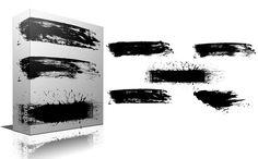 Brush Strokes by TrueMitra Designs on Creative Market