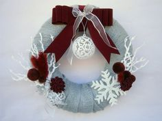 christmas wreath decor christmas decoration by creationmoodmarias, €35.00