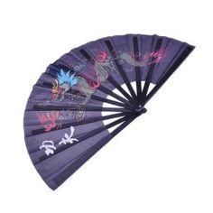 fold fan, chines fan, women accessories, black dragon, fashion accessories