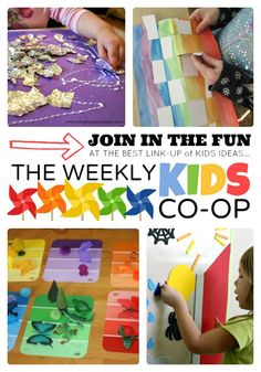 The Best Link Party for #Kids Ideas - The Weekly Kids Co-Op - #linky #linkparty #parenting #play