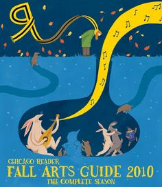kettle of fish: reader fall arts guide cover