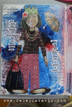 005 Self Portrait Collage   Flickr - Photo Sharing!
