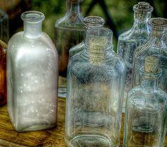 Old Bottles by PhotoAtelier, via Flickr