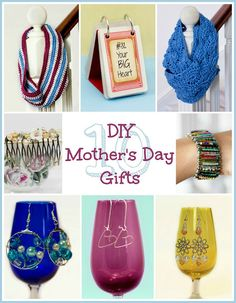 10 DIY Mother's Day Gift Ideas via My Favourite Things