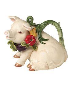 Look at this #zulilyfind! Pig Teapot by Kaldun and Bogle #zulilyfinds