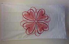 Sigma Kappa Hearts Logo Flag 3' x 5' Free Shipping | eBay