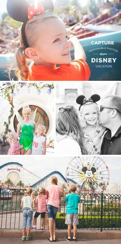 Capture Memorable Photos of your Disney Vacation - simple as that