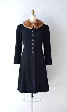 vintage 1930s princess coat