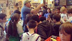 Jeff Phelan teaching one of our youth programs about entomology.