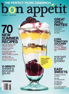 August 2010 Table of Contents - Bon Appétit