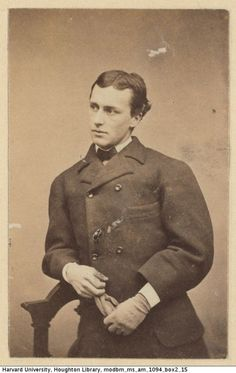 Henry James at a young age.