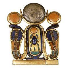 Unique Jewelry Clasp of Tutankhamun