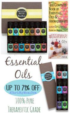 Essential oils  make