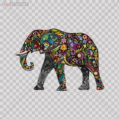 Decal Stickers Colorful Elephant car window Wall Art Decor Doors Helmet Truck Motorcycle Note Book Mobile Laptop Glass Size: 5 X 3.5 Inches Vinyl color print Elephant Mammoth Stickers http://www.amazon.com/dp/B00JJQ8RBA/ref=cm_sw_r_pi_dp_8Ne3tb1YS9Z4C1KF