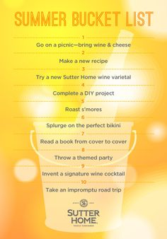 Our #summer bucket list!