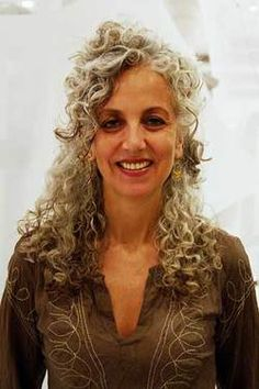 Silver and curly
