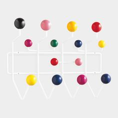 Eames® Hang-It-All Coat Rack  Charles & Ray Eames, 1953