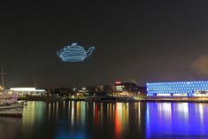 Smart Atoms (Spaxels) - Flying building blocks / @arselectronica