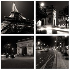 Paris Photography, Paris photos, Paris at Night, Paris Decor Gift... ($30) ❤ liked on Polyvore