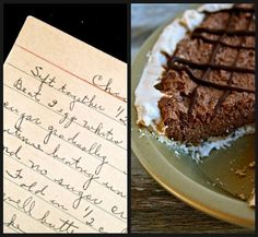 Chocolate Nut Angel Pie