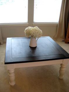 coffee table redo