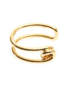 Shop now: #Chloe gold cuff $432
