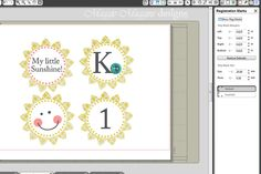 Creating your own patterns with Silhouette Studio.