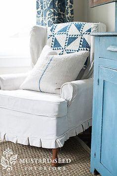 The quilt!  Love aqua.