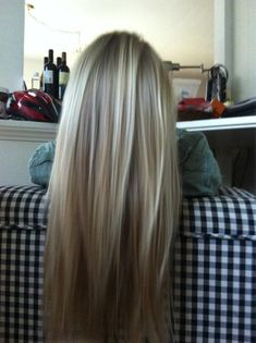 California bronde... Part brown part blonde. Ideal hair color