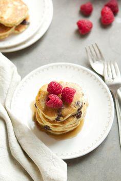 Gluten-free Banana Chocolate Chip Pancakes