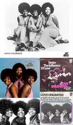 """From their second LP, hear the extended mix of Love Unlimited's 1973 hit """"Under The Influence Of Love"""" in my board, """"My Music: Disco!"""""""