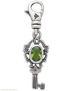 You hold the #Key #Charm! Glass, #Sterling #Silver. #Silpada #Jewelry
