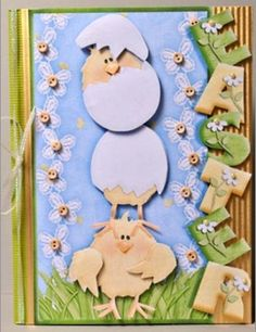 Printable Easter Chick Cards