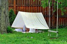 Simple Backyard Tents