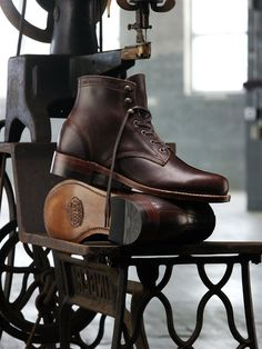 Wolverine's 1000 Mile Boot $325 #boot #wolverine #leather #brown #shoes